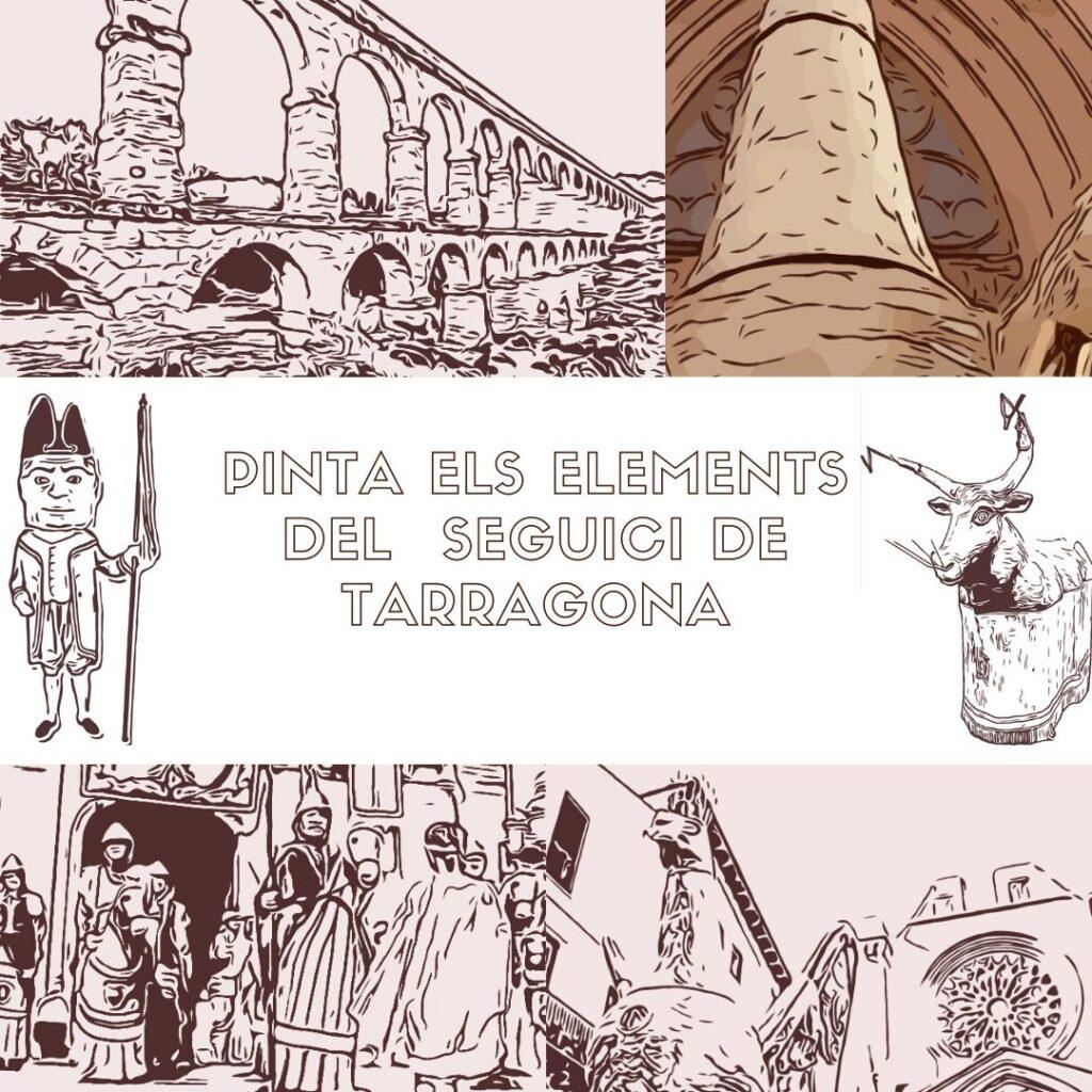 pinta seguici de Tarragona