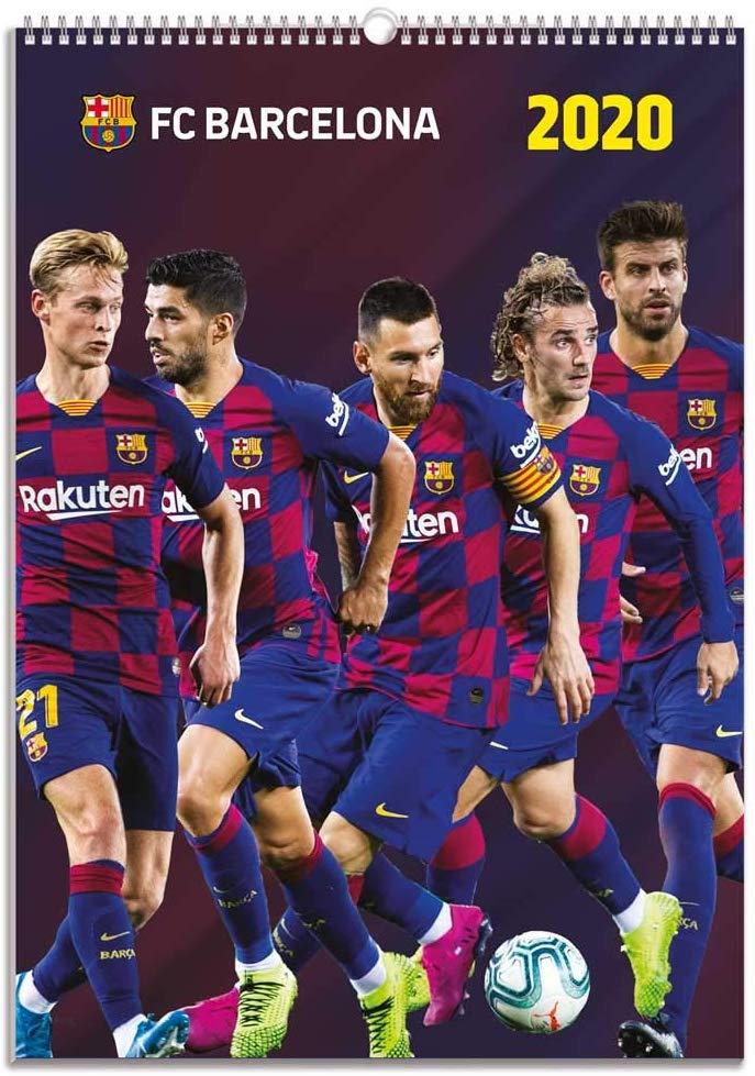 Calendario A3 FC Barcelona 2020