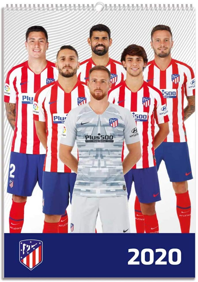 Calendario de pared 2020 Atletico Madrid