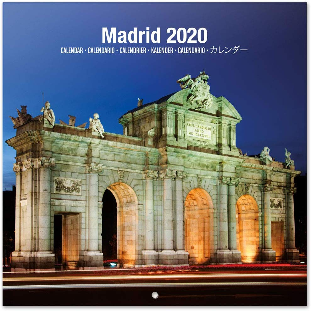 Calendario de pared 2020 Madrid 30x30