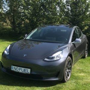 Model 3 Tesla vehiculo electrico