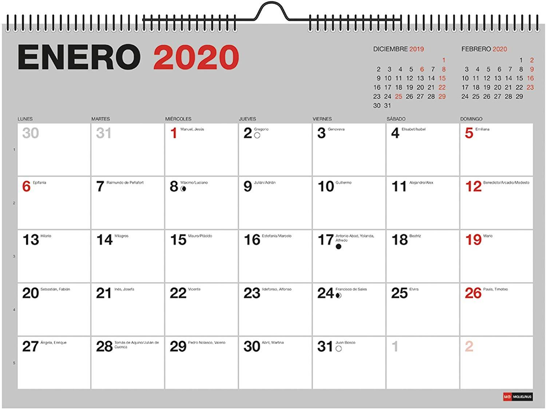calendario de pared A3 2020