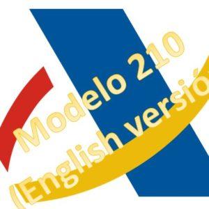 non-resident in Spain modelo 210