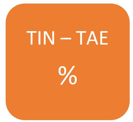 Diferencia TIN TAE formula