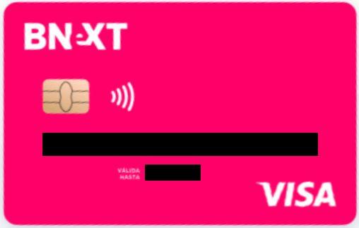 BNext tarjeta Neobank