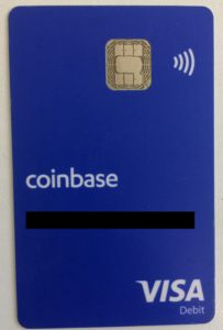Coinbase tarjeta