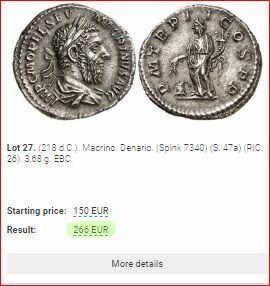 Sixbid conocer el valor de tus monedas antiguas