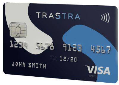 Trastra tarjeta Visa