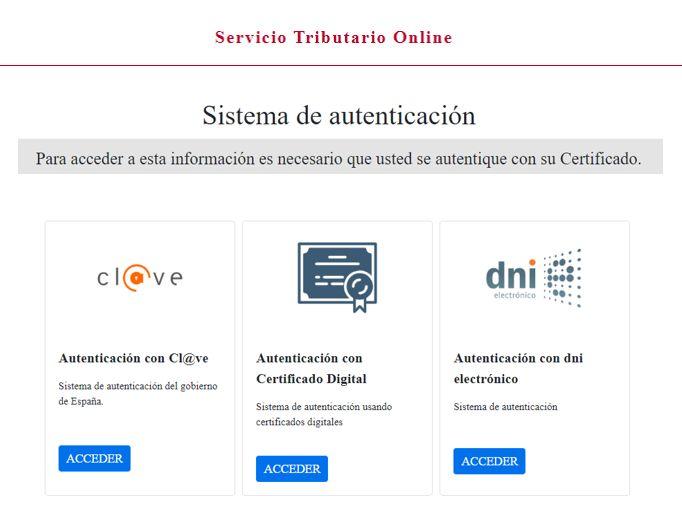 acceso sede electronica Ayuntamiento