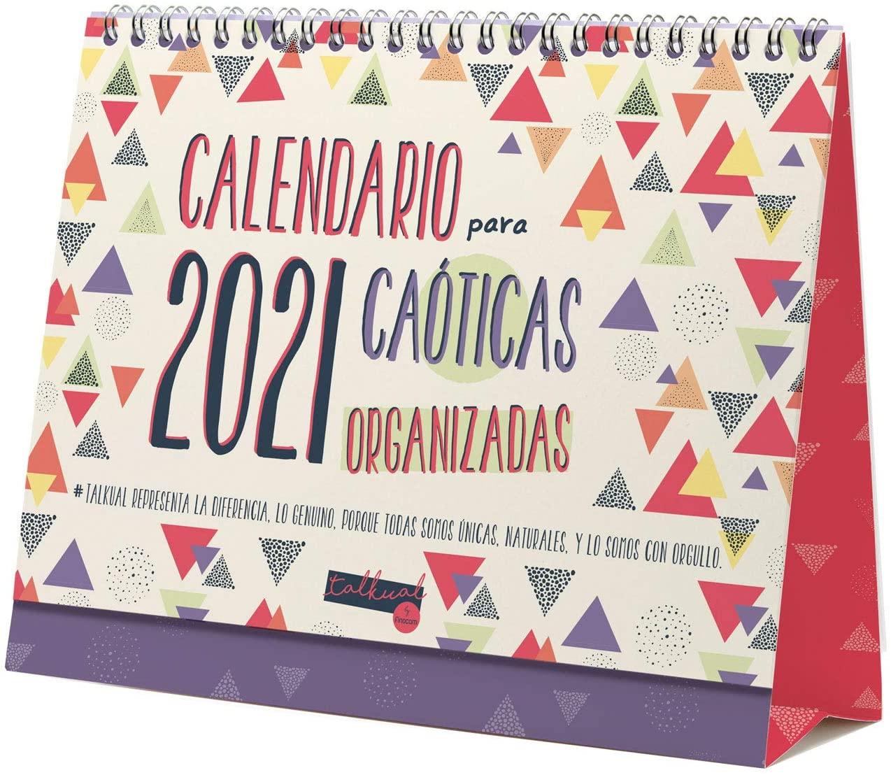 calendario 2021 caoticas