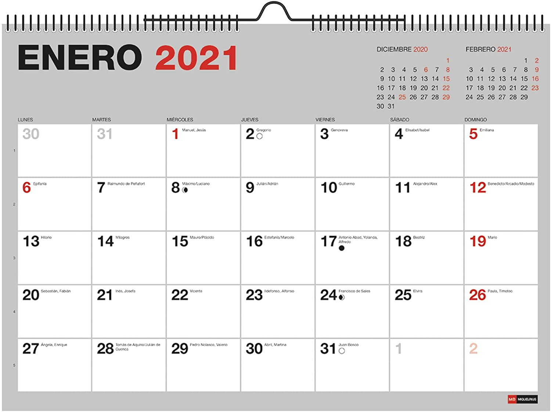 calendario 2021 miquelrius