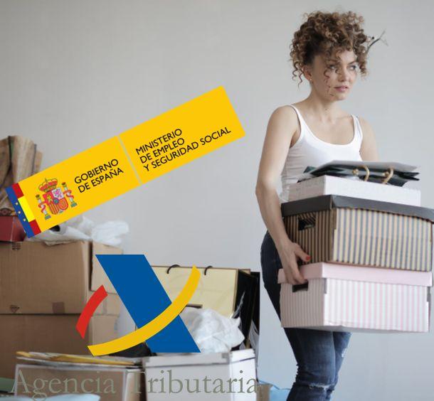 Notificar cambio domicilio Seguridad Social